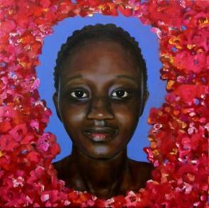 Rosalie, 2016, 80x80cm oil on canvas