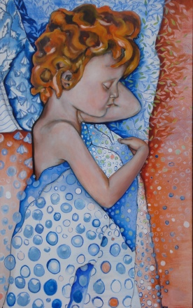 A dream 2008, 140x100cm, oil on canvas dyptych