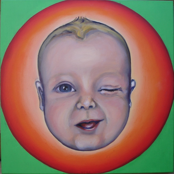 1999 portret baby's 'Bubbelgum-baby'